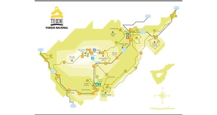Senderos Parque Nacional del Teide