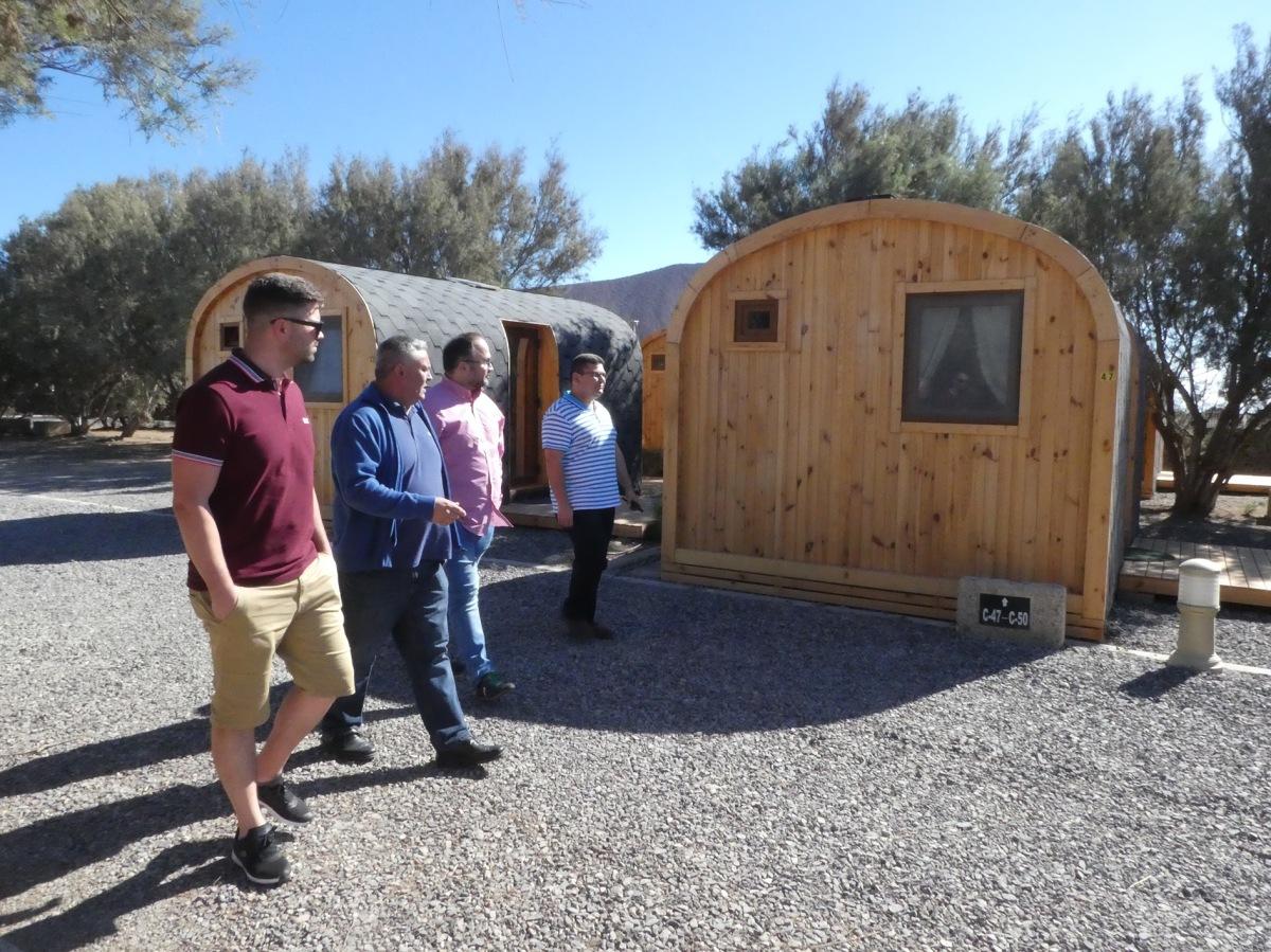 Finalizadas las mejoras del Camping de Montaña Roja, en Granadilla de Abona